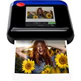 Zink Polaroid WiFi Wireless 3x4 Portable Mobile Photo Printer (Blue) with LCD Touch Screen, Compatible w/ iOS & Android