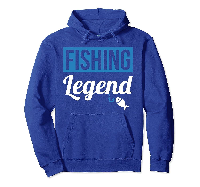 Fishing Legend Fishing Hoodie for Women Men Fishing Lovers-Samdetee