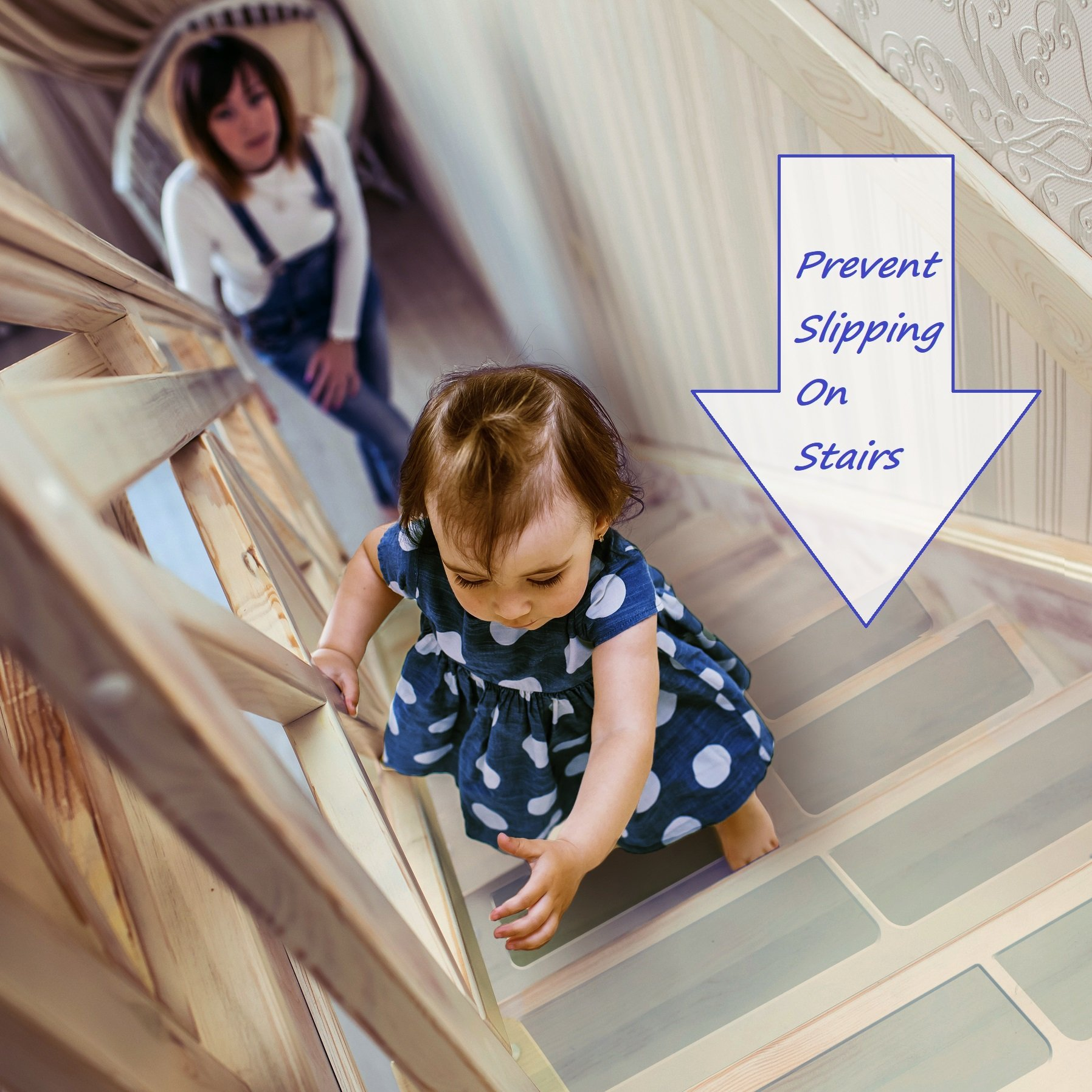 Charmant Details About StepStrips Clear Non Slip Adhesive Strips For Stairs To  Prevent Slipping And