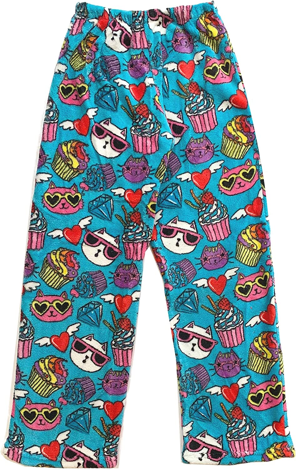 Confetti and Friends Girls and Boys Fuzzy Plush Pants