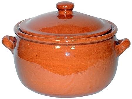 Amazing Cookware Natural Terracotta 3 Litre Stew Pot
