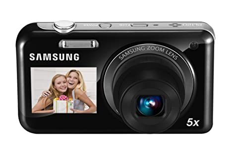 Samsung EC-PL120 14.2MP Point and Shoot Camera (Black) with 5x Optical Zoom Point & Shoot Digital Cameras at amazon