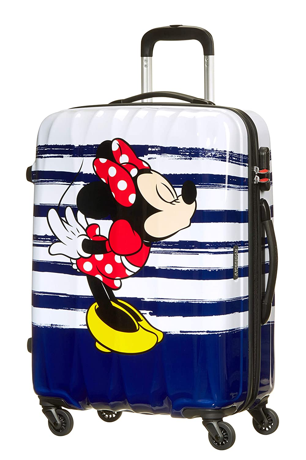 TROLLEY AMERICAN TOURISTER DISNEY LEGENDS SPINNER M 19C*007 MINNIE KISS 64479/6974
