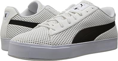 2cc59207e80e4d PUMA Men s Puma X DP Court Platform K Puma White Puma Black Athletic Shoe