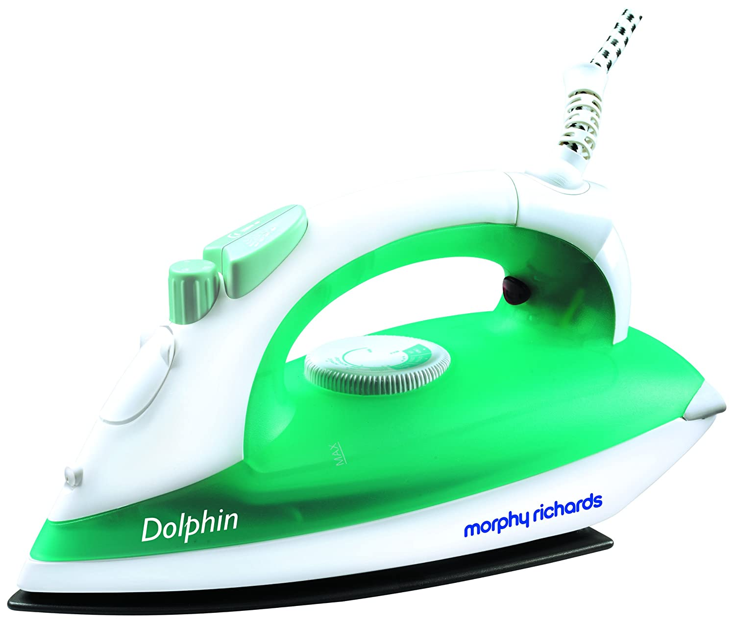 Morphy Richards Dolphin 1300-Watt Steam Iron (Green and White ...