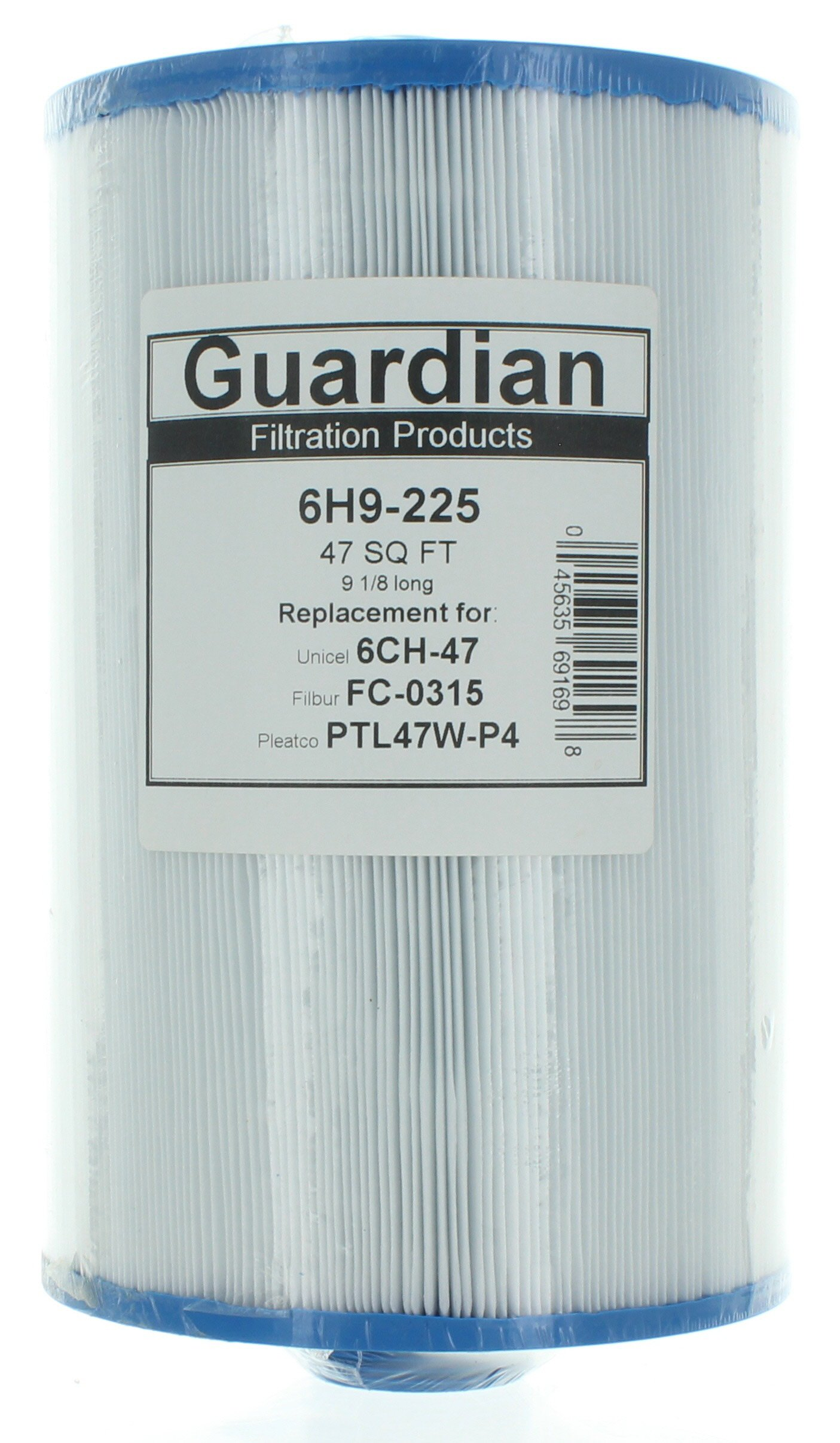 2 Guardian Pool Spa Filter Cartridge Replaces 6CH-47 PTL47W FC-0315 Top Load 47 sq ft by Guardian Filtration Products