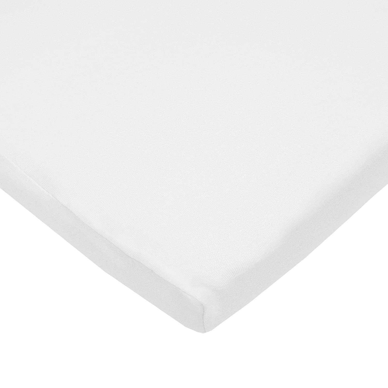 TL Care Supreme 100/% Natural Cotton Jersey Knit Fitted Cradle Sheet for Boys and Girls Maize Soft Breathable