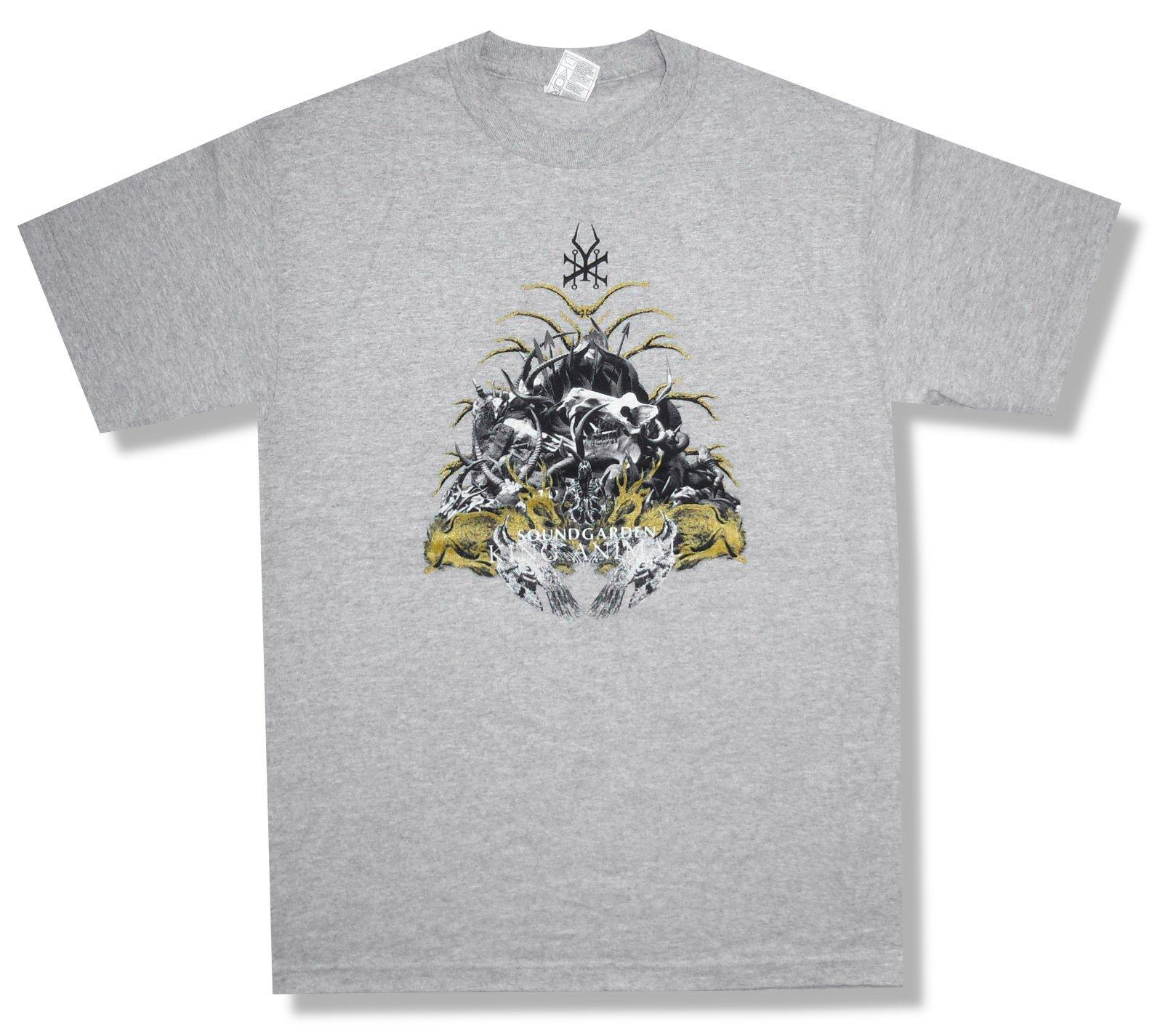 Soundgardenking Animal Tour 2013 Grey Shirts
