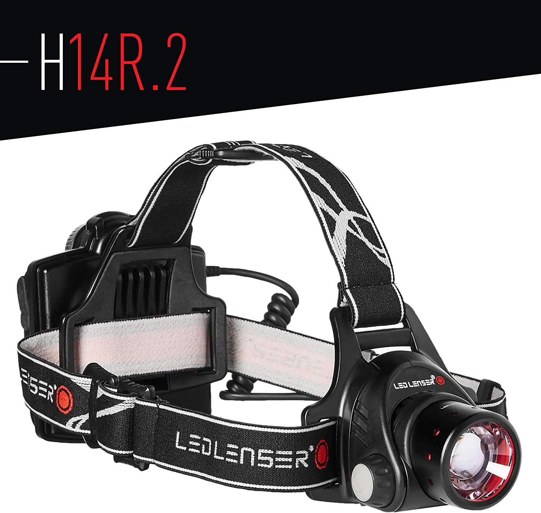 Ledlenser – H14R.2 Rechargeable Headlamp, Black