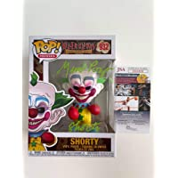 $99 » Geno Ponza signed Funko Pop Killer Klowns from Outer Space Shorty Clown JSA