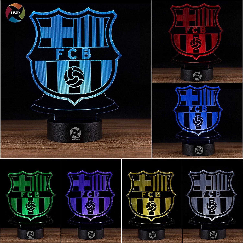 3D ナイトライト B072XXXBTD 10609 FC Barcelona FC Barcelona