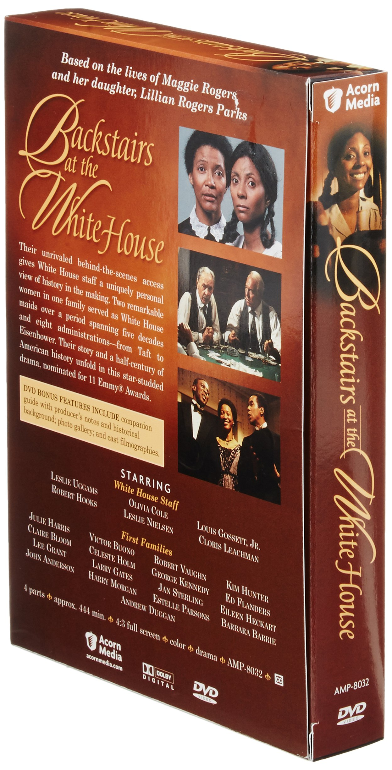 BACKSTAIRS AT THE WHITE HOUSE DVD