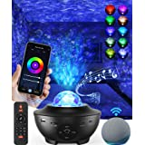 Galaxy Projector Star Projector, Sky Night Light for Bedroom, Room Decor for Kids and Adults, 8 in 1 Smart WiFi Music Star Li