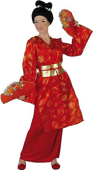 Desconocido Disfraz de china para mujer: Amazon.es: Juguetes y ...
