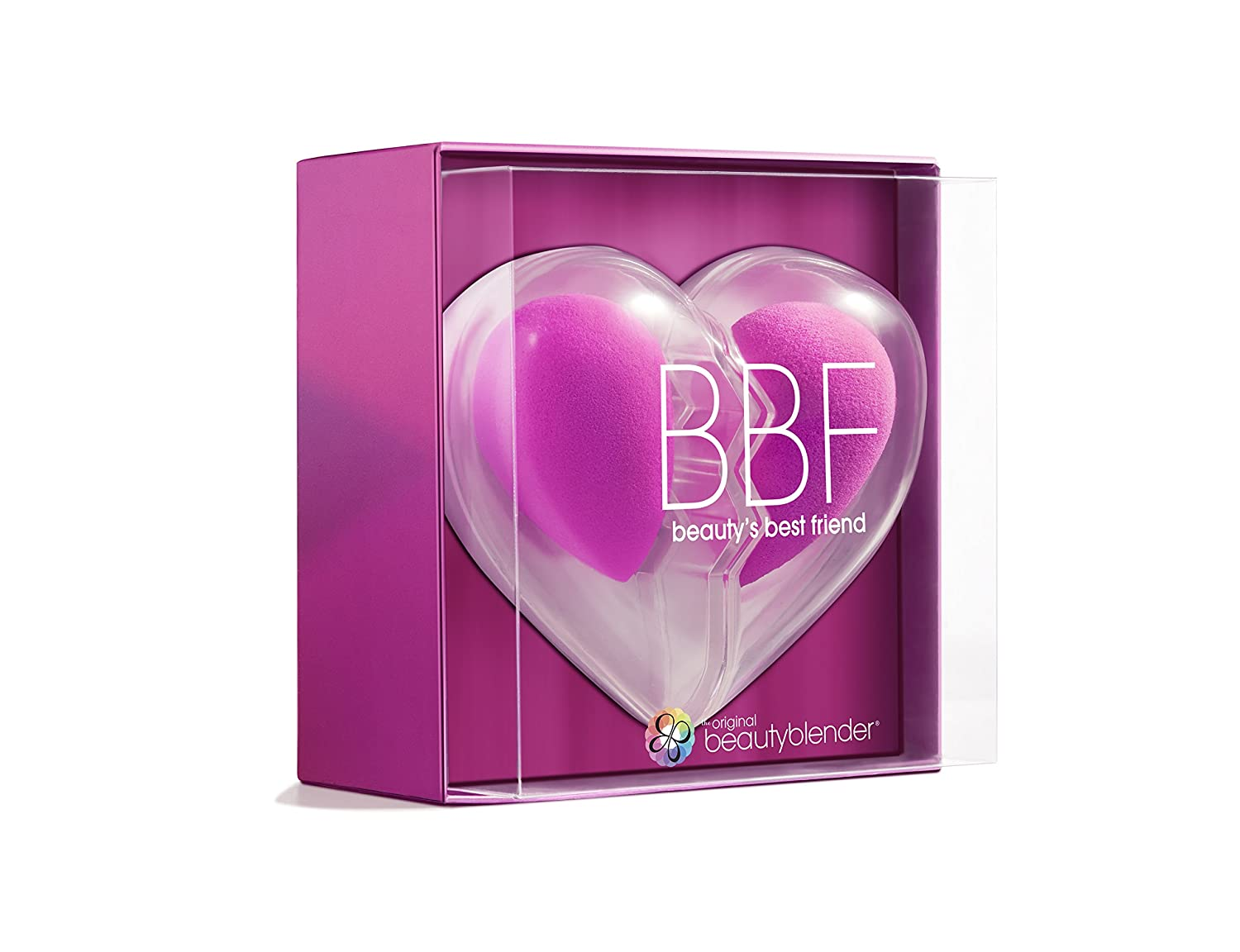 beautyblender BBF Heart, Two Original Makeup Sponges for Foundations, Powders & Creams HealthCenter 20819