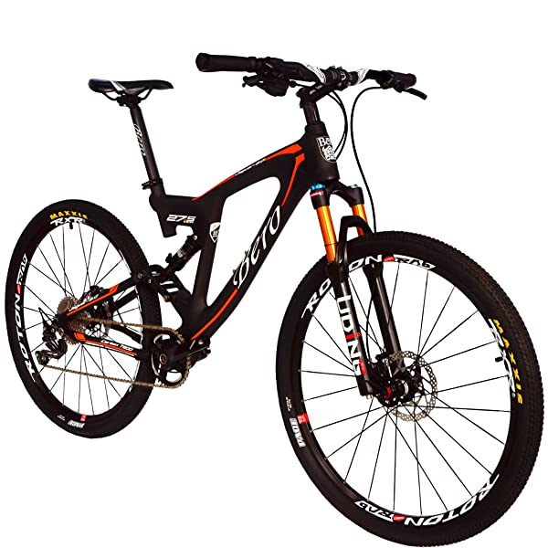 BEIOU Carbon Dual Suspension Mountain Bike