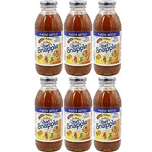 Snapple Diet Half and Half Iced Tea, 16oz Bottle (Pack of 6, Total of 96 Fl Oz)