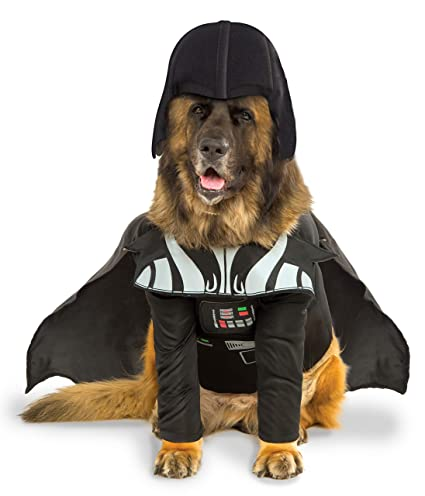 1e35c90beff Rubie's Star Wars Darth Vader Pet Costume With Removable Cape