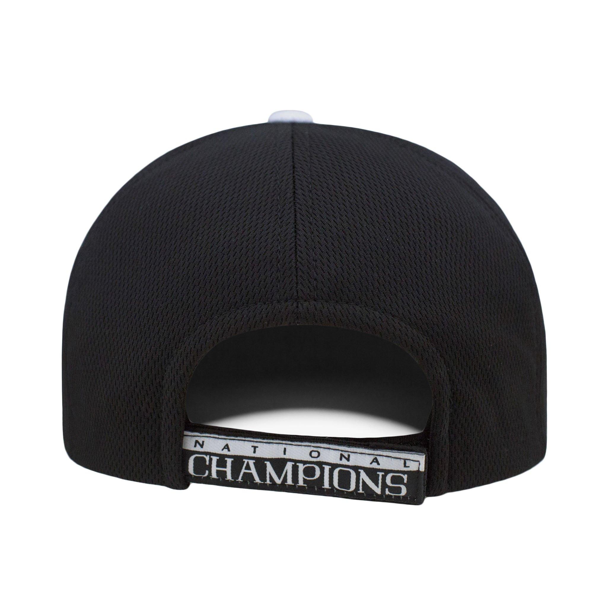 Top of the World Denver Pioneers 2015 LAX Lacrosse Champions Locker Room Adjust Black Hat Cap