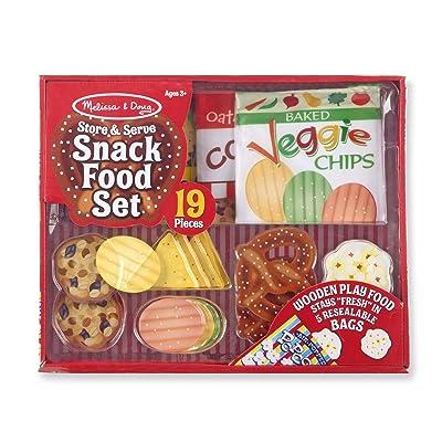 Melissa & Doug Snack Food Set: Toys & Games