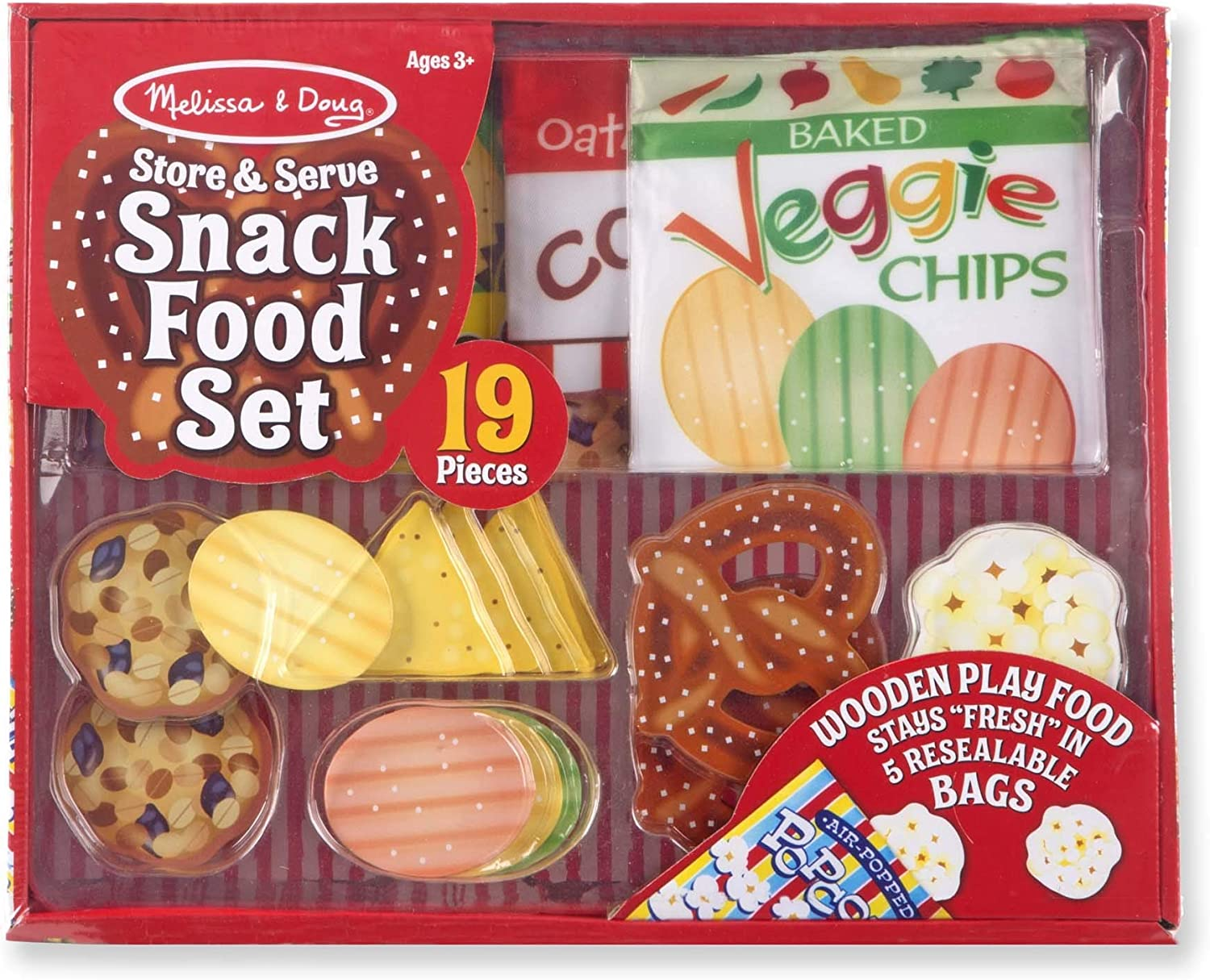 Melissa & Doug Snack Food Set