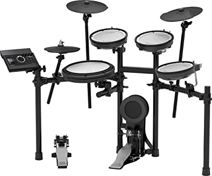 f1e6ff774043 Amazon.com  Roland V-Compact Series Electronic Drum Kit (TD-17KV-S)   Musical Instruments