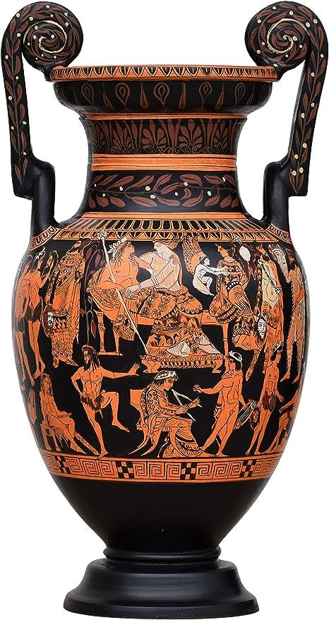 Amazon.com: Pronomos Vase Krater Ancient Theater Greek Pottery Ceramic  Greece: Home & Kitchen
