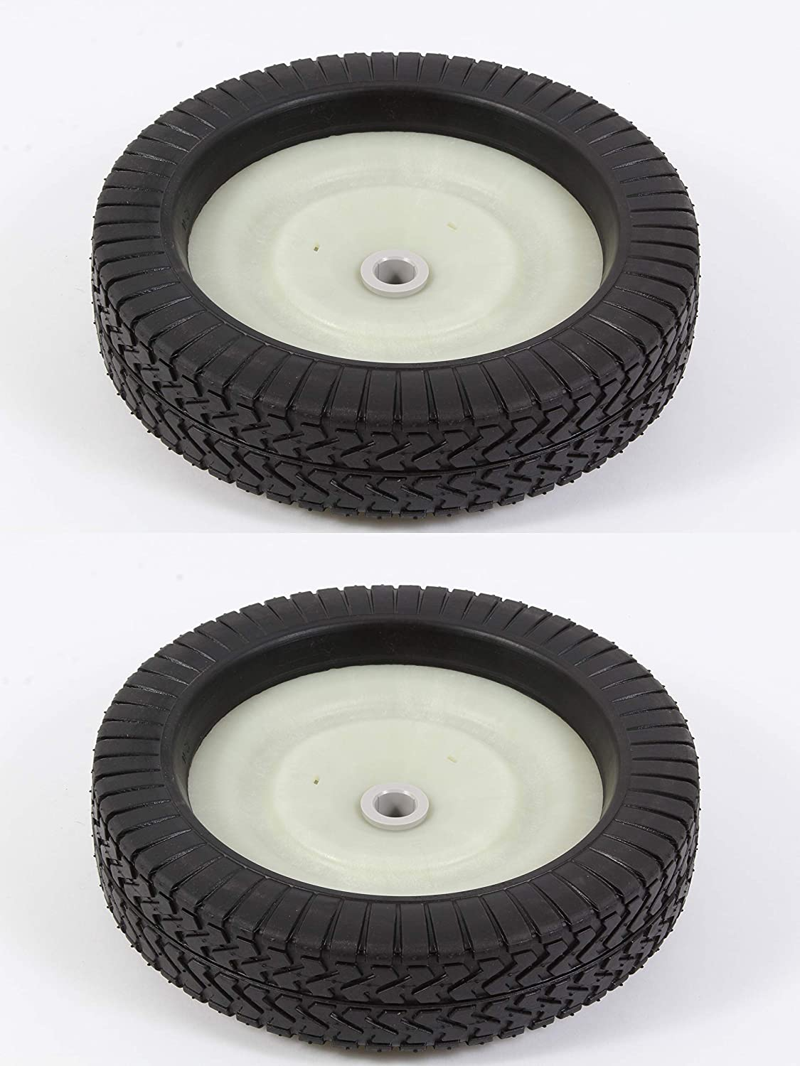Agri-Fab 2 Pack Genuine 44985 Wheel & Tire ASM Fits Lawn Sweeper Craftsman