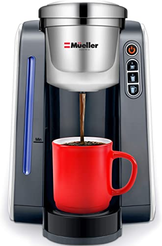 Mueller Single Serve Pod Compatible Coffee Maker Machine