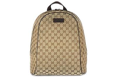 020228ffc42d7 Gucci women s rucksack backpack travel gg canvas beige  Amazon.co.uk ...
