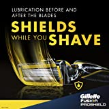 Gillette Fusion ProShield Men's Razor with Flexball Handle and 2 Razor Blade Refills, Mens Razors/Blades