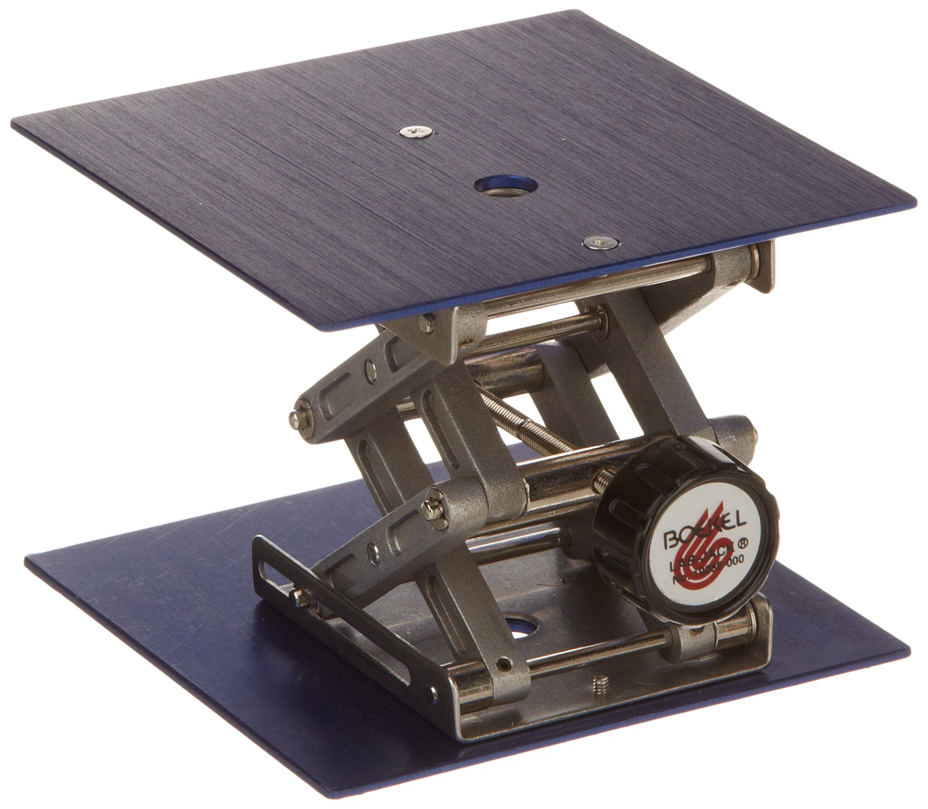 Boekel 19086000 Micro Lab Jack with 3'' x 3'' Anodized Metal Platform by Boekel Industries