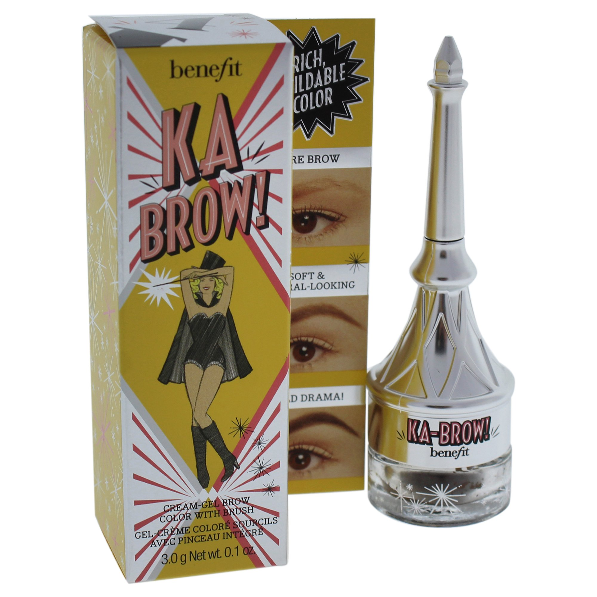 benefit ka brow creme gel brow color medium 03 mini beauty. Black Bedroom Furniture Sets. Home Design Ideas