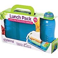 Sistema Lunch Snack Attack DuoLunchbox mit 2 Fächern–975ml