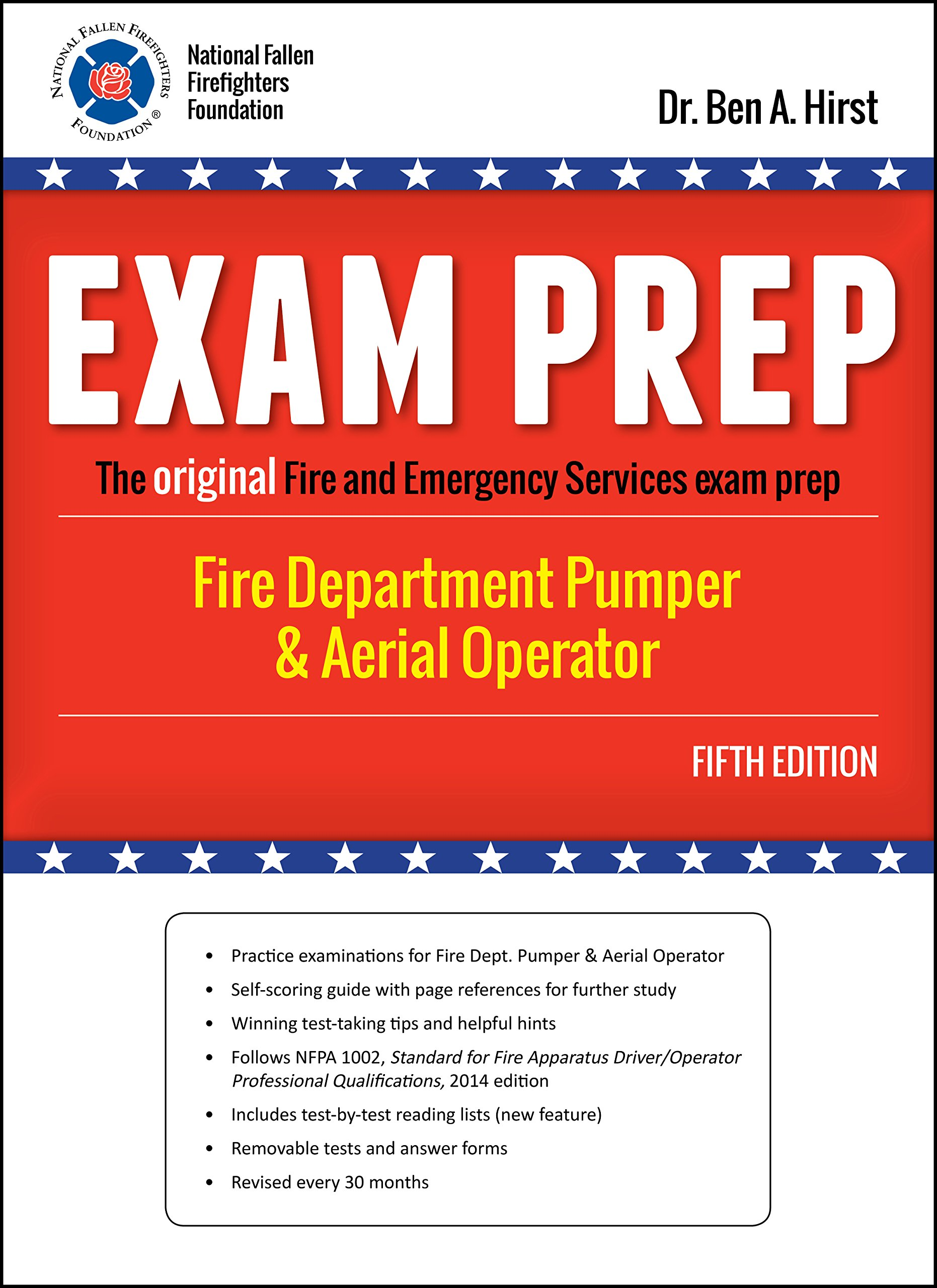 FIRE DEPARTMENT PUMPER & AERIAL OPERATOR: Performance Training Systems Dr.  Ben A. Hirst: 9781495117541: Amazon.com: Books