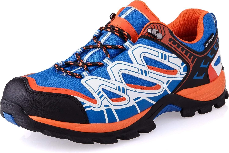 Crivit Outdoor, Scarpe outdoor multisport uomo, Blu (orange / blau / weiß), 44: Amazon.es: Zapatos y complementos