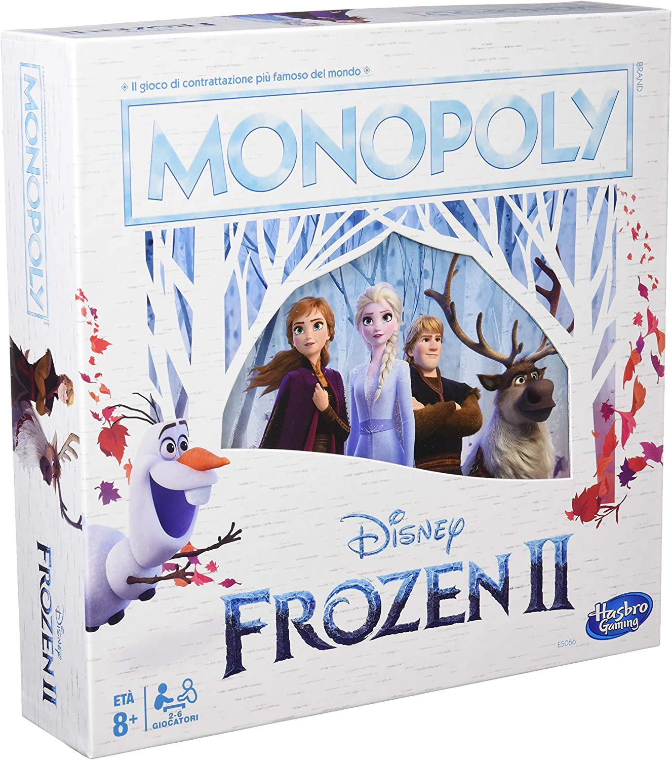 Monopoly – Disney Frozen 2 (Version Italiana): Amazon.es: Juguetes y juegos