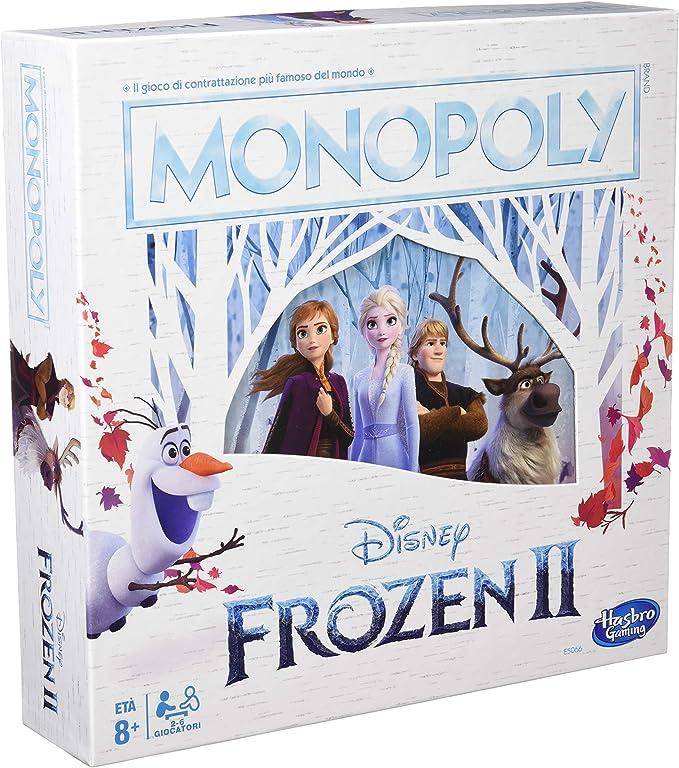 Monopoly – Disney Frozen 2 (Version Italiana): Amazon.es: Juguetes y juegos