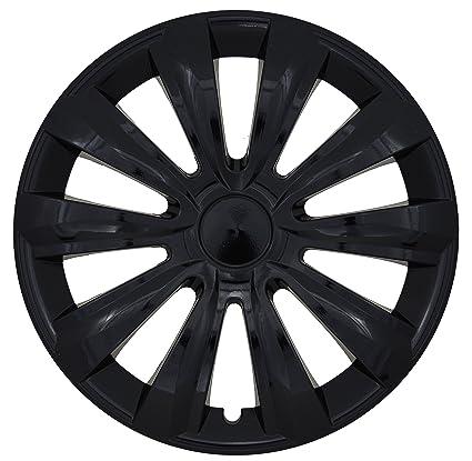 Albrecht Automotive 24184 Tapacubos Delta Black 14 Pulgadas, 1 Juego