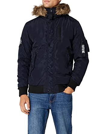 JACK   JONES Herren JCOCARTER Jacket, Blau (Sky Captain Fit One), 0e3ac2112b