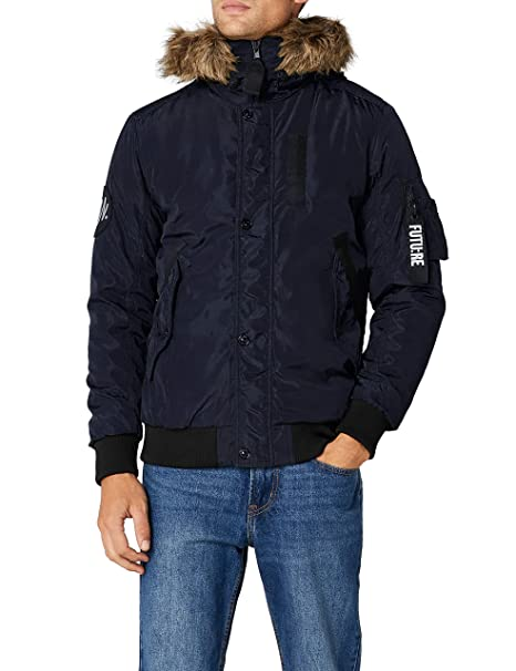 JACK & JONES Jcocarter Jacket, Chaqueta para Hombre, Azul (Sky Captain Fit: