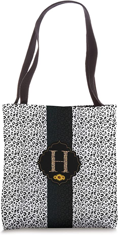 Amazon.com: Leopard Print Cheetah Animal Sunflower Letter ...