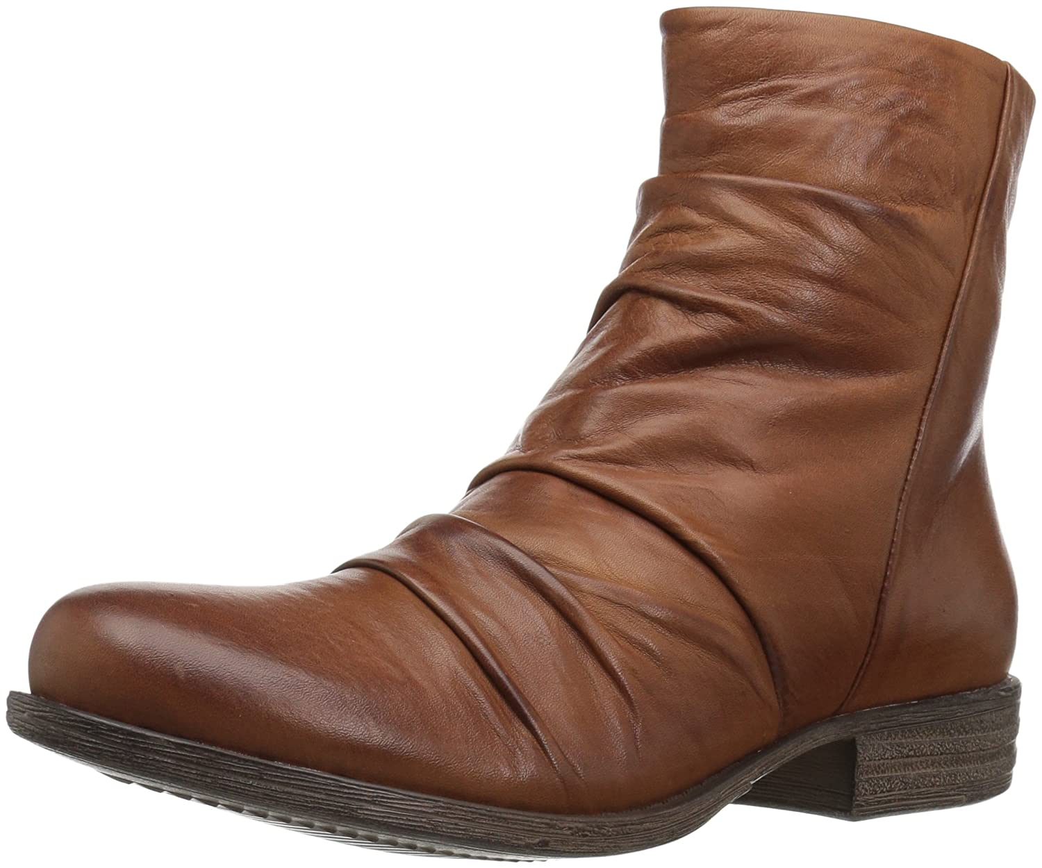 Miz Mooz Women's Lane Ankle Boot B06XPFNY88 8 B(M) US|210-brown