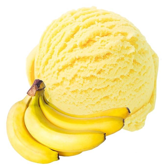 Sabor de plátano 1 Kg Helado de Gino Gelati para helado de leche Polvo de hielo