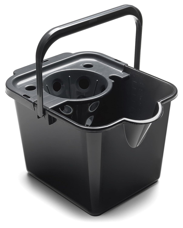 Addis Superdry Mocio e strizzatore Metallic//Graphite 25.5x32x132 cm plastica