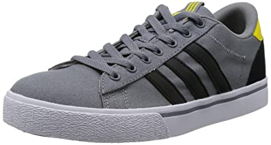 online store 32016 b9163 adidas Neo Men s Trainers Multi-coloured Grey Black Yellow Multi-coloured  Size