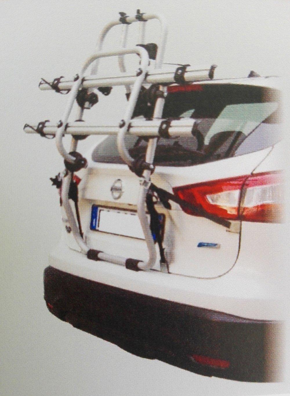 je1802-el Portabicicletas Portón Trasero De Aluminio Bicicleta OK 2 Elektrobike para 2 bicicletas eléctricas: Amazon.es: Coche y moto