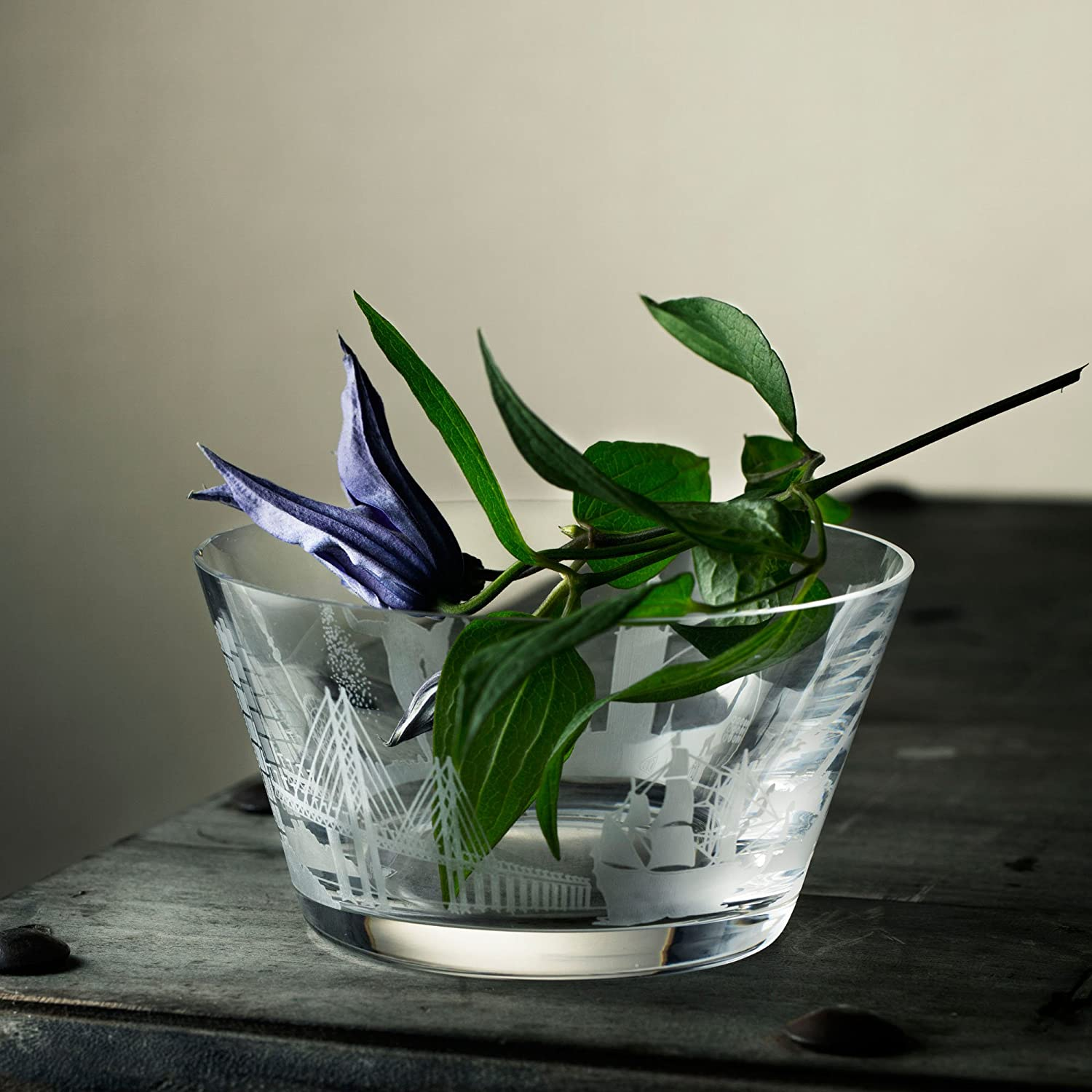 Clear Orrefors 6130012 Sweden Cities Bowl no size