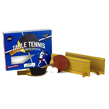 Professor PUZZLE Tenis de Mesa de Madera – Mini Juego de Tenis de ...