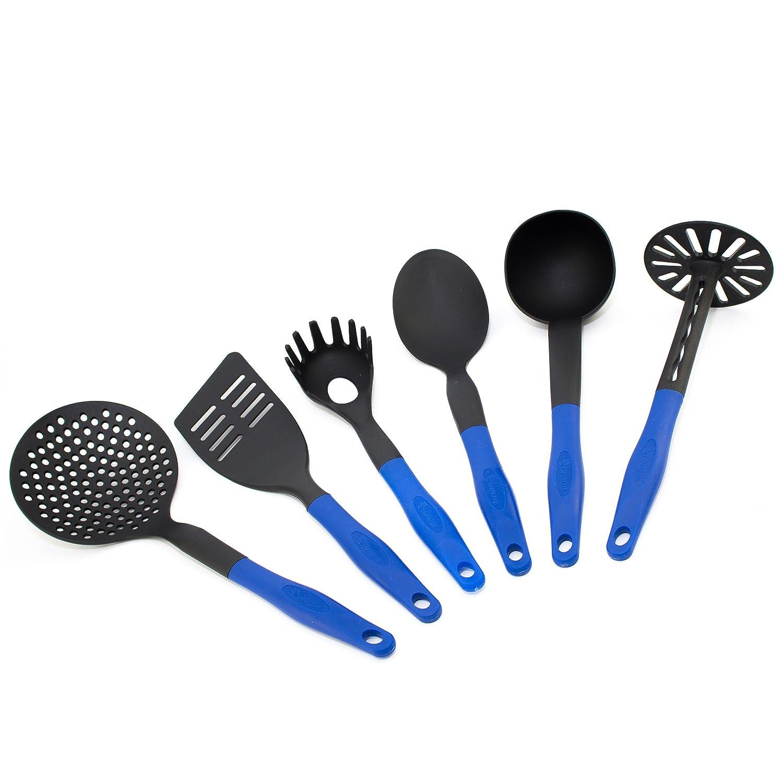 Küchenbesteck - Küchenhelfer Set 6 tlg. Küchenutensilien ...